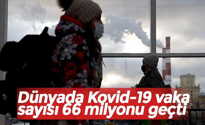 Dünyada Kovid-19 vaka sayısı 66 milyonu geçti