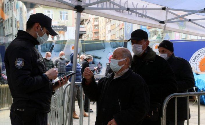 Samsun Valisi Dağlı, Kovid-19 pozitif vatandaşların dışarıda gezmesin en önemli sorunları olduğunu söyledi