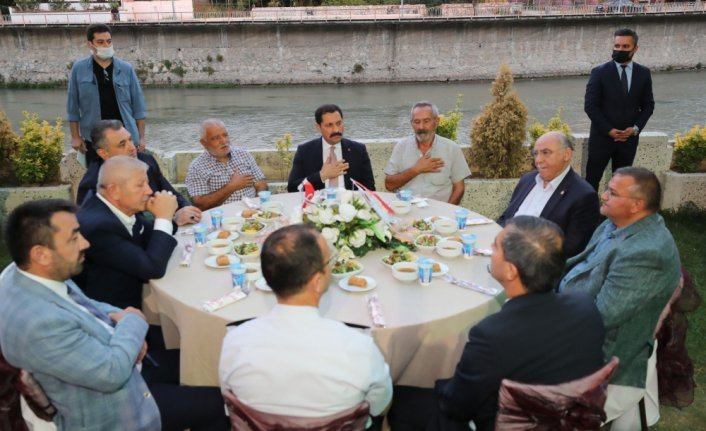 Amasya'da muharrem ayı dolayısıyla iftar programı düzenlendi