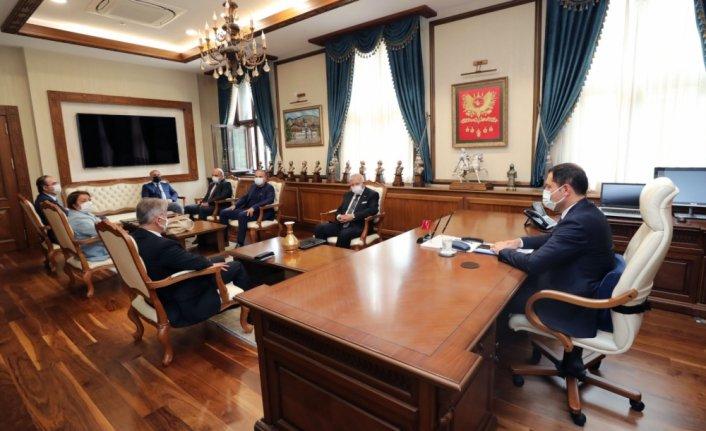 Amasya'da turizm toplantısı yapıldı