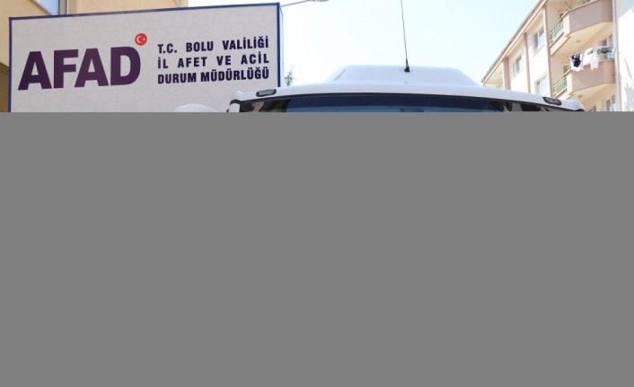 Bolu'dan 25 AFAD gönüllüsü, sel felaketinin yaşandığı Kastamonu'ya gitti
