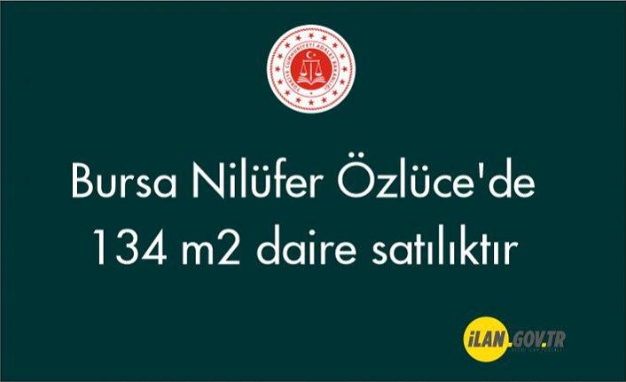 Bursa Nilüfer Özlüce'de 134 m2 daire icradan satılıktır