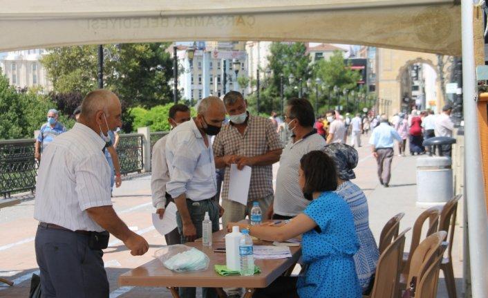 Çarşamba'da Kovid-19 aşılama oranını artırmak için