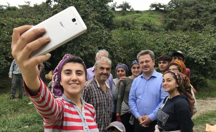 Giresun Valisi Ünlü'den afetzedeler için fındık üreticilerine çağrı: