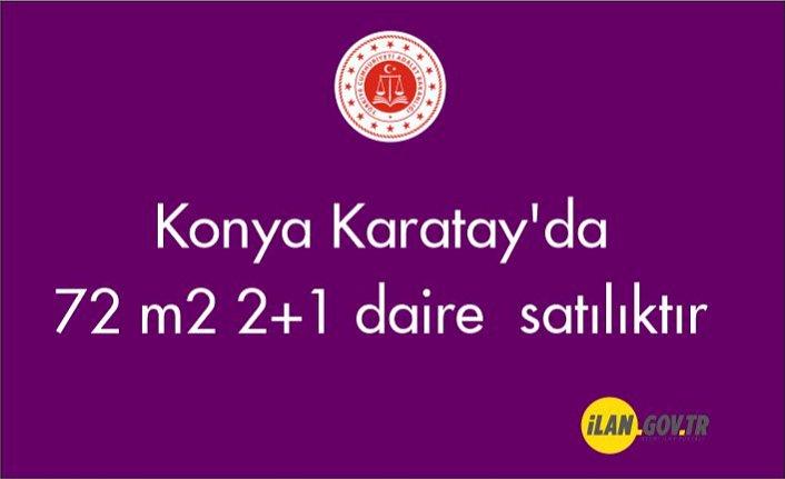 Konya Karatay'da 72 m² 2+1 daire  satılıktır
