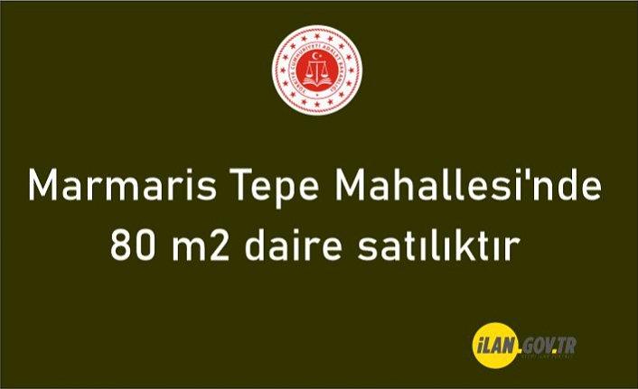 Marmaris Tepe Mahallesi'nde 80 m2 daire satılıktır
