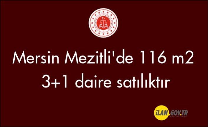 Mersin Mezitli'de 116 m² 3+1 daire icradan satılıktır