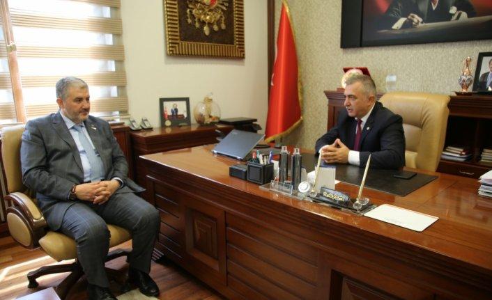 MÜSİAD Genel Başkanı Kaan Tokat TSO Başkanı Çelik'i ziyaret etti