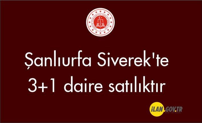 Şanlıurfa Siverek'te 3+1 daire satılıktır