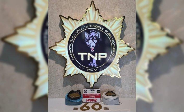 Tokat'ta uyuşturucu operasyonunda 2 şüpheli tutuklandı