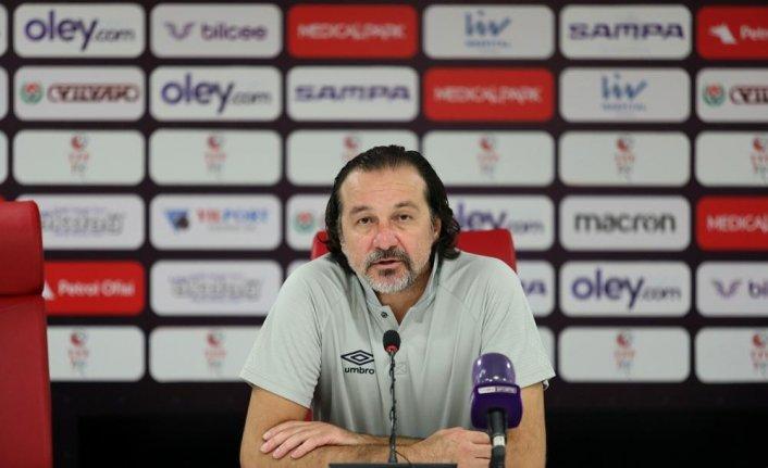 Yılport Samsunspor - Balıkesirspor maçının ardından