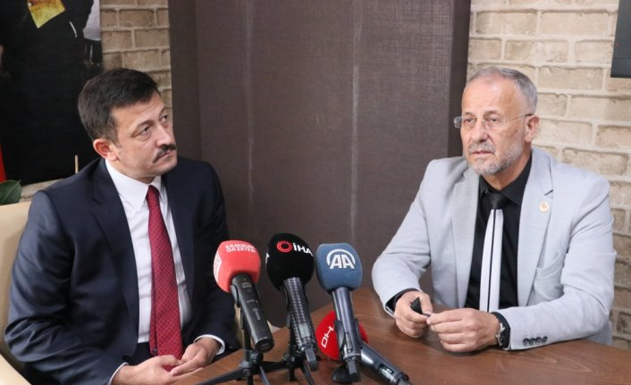 AK Parti'li Dağ, Samsun'da basın mensuplarıyla buluştu: