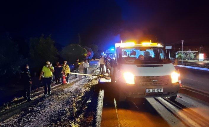 Amasya'da ATV aracı kamyonete çarptı: 2 ölü