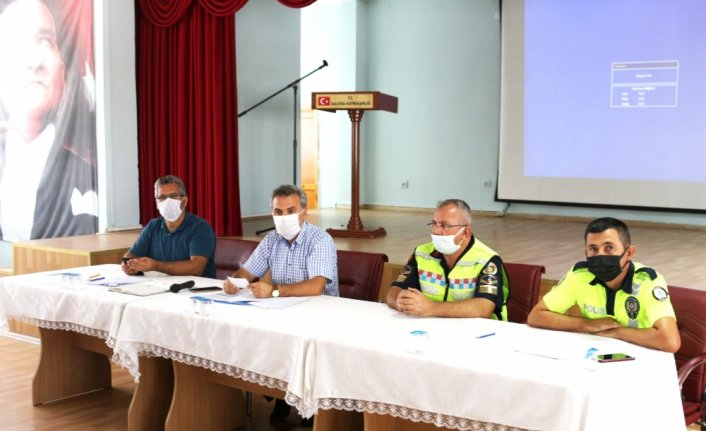 Amasya'da servis şoförleri ve rehber personele eğitim verildi