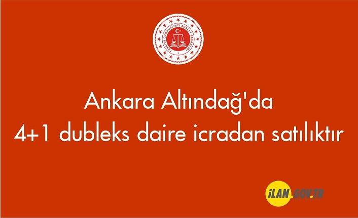 Ankara Altındağ'da 4+1 dubleks daire icradan satılıktır