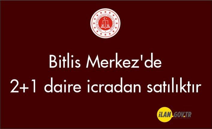 Bitlis Merkez'de 2+1 daire icradan satılıktır