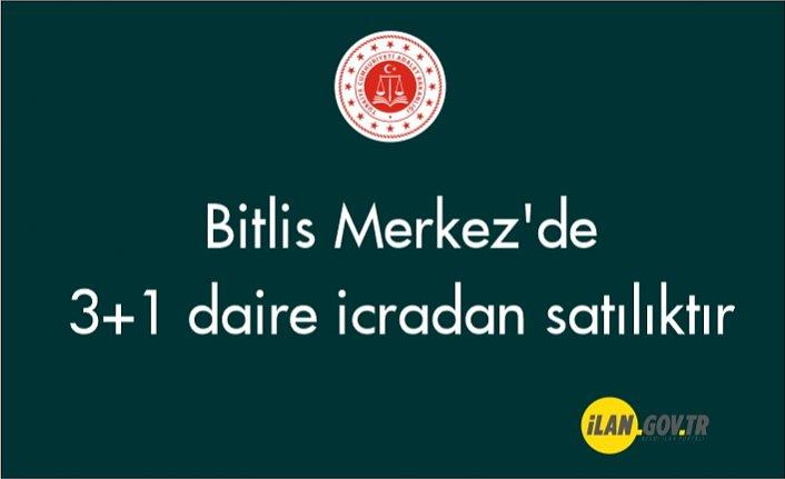 Bitlis Merkez'de 3+1 daire icradan satılıktır