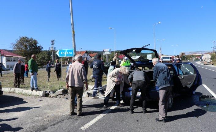 Bolu Dağı'nda meydana gelen kaza ulaşımı aksattı
