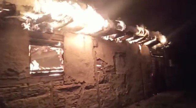 Bolu'da çıkan yangında 8 bin civciv telef oldu
