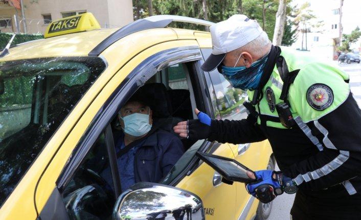 Bolu'da taksiler denetlendi