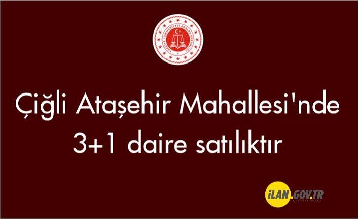 Çiğli Ataşehir Mahallesi'nde 3+1 daire icradan satılıktır