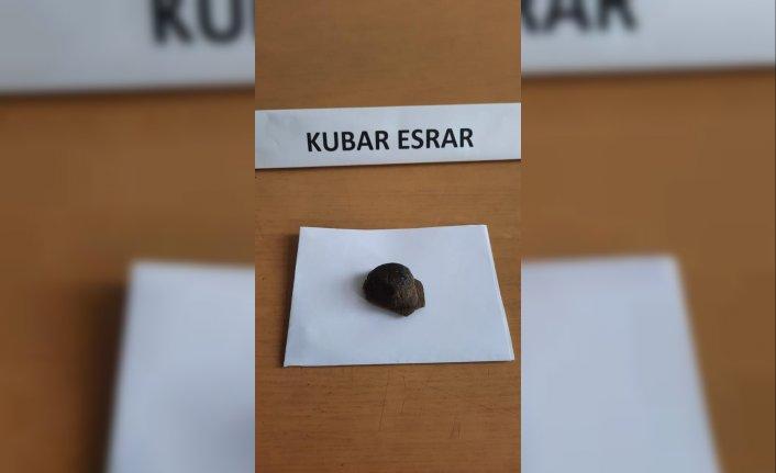 Düzce'de yol kontrolü sırasında aracında uyuşturucuyla yakalanan zanlı gözaltına alındı
