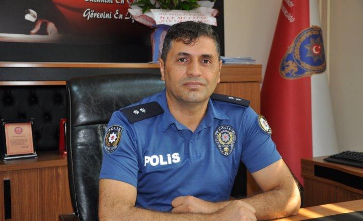 Gümüşhacıköy Emniyet Müdürü Bayram Delak göreve başladı