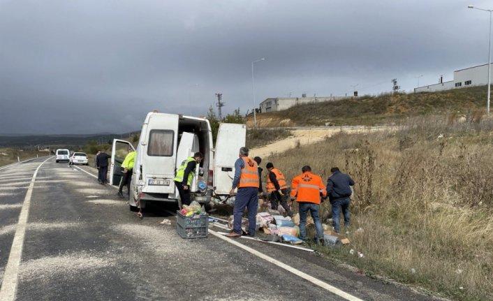 GÜNCELLEME - Kastamonu'da yolcu otobüsü ile minibüs çarpıştı, 10 kişi yaralandı