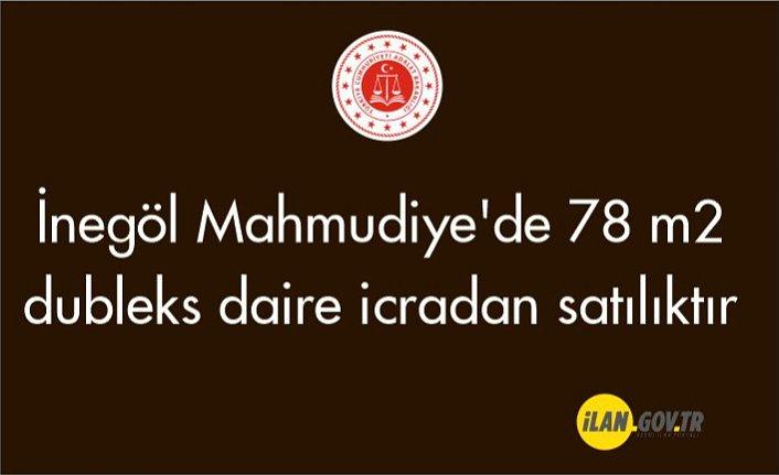 İnegöl Mahmudiye'de 78 m2 dubleks daire icradan satılıktır
