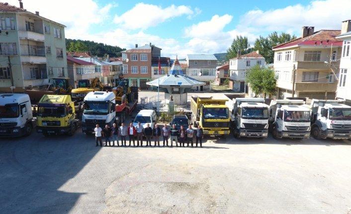 Karabük İl Özel İdaresi ekipleri selden zarar gören Kastamonu'da çalışmalarını tamamladı