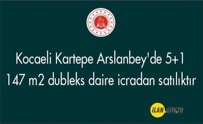 Kartepe Arslanbey'de 5+1 147 m² dubleks daire icradan satılıktır