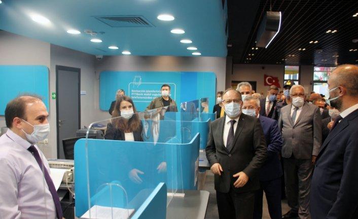 PTT'nin yeni konseptli Ereğli Müdürlüğü hizmet binası açıldı