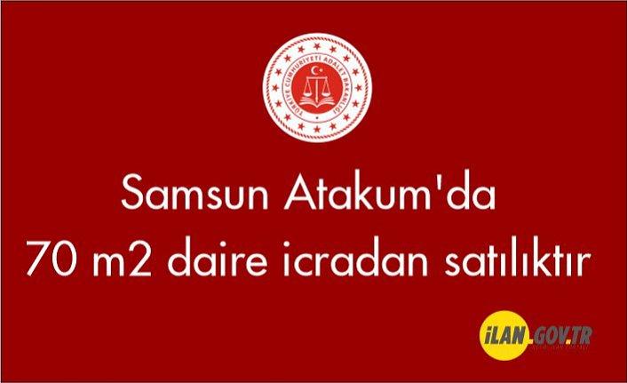 Samsun Atakum'da 70 m² daire icradan satılıktır