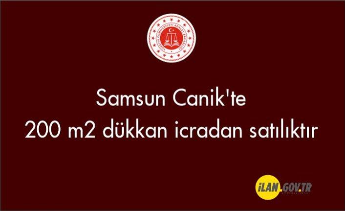 Samsun Canik'te 200 m2 dükkan icradan satılıktır
