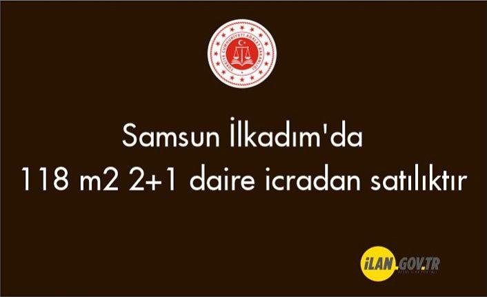 Samsun İlkadım'da 118 m² 2+1 daire icradan satılıktır