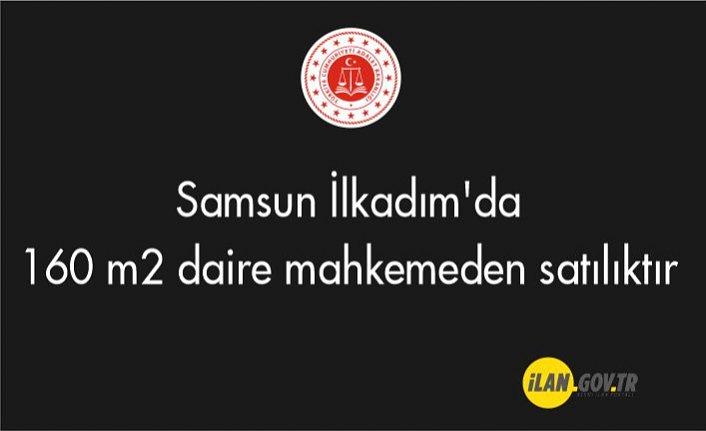 Samsun İlkadım'da 160 m2 daire mahkemeden satılıktır