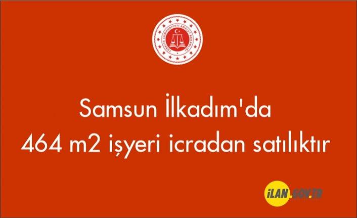 Samsun İlkadım'da 464 m² işyeri icradan satılıktır
