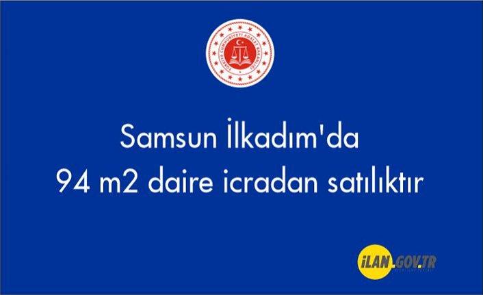 Samsun İlkadım'da 94 m2 daire icradan satılıktır
