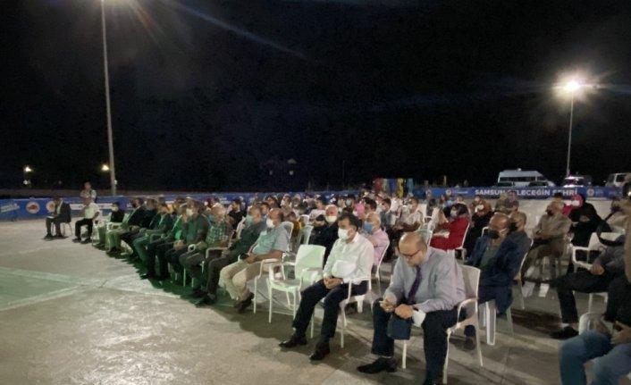 Samsun'da 30 Ağustos Zaferi şehitleri, salgın hastalık ve afetler için dua edildi
