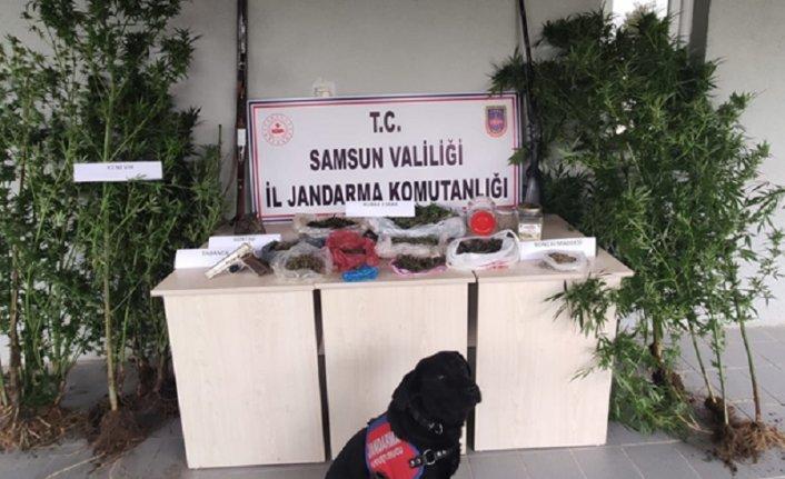 Samsun'da uyuşturucu operasyonlarında 17 şüpheli yakalandı