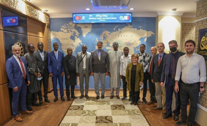 Senegalli dekanlardan Karabük Üniversitesine iş birliği ziyareti