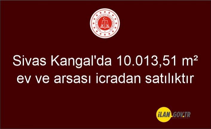 Sivas Kangal'da 10.013,51 m² ev ve arsası icradan satılıktır
