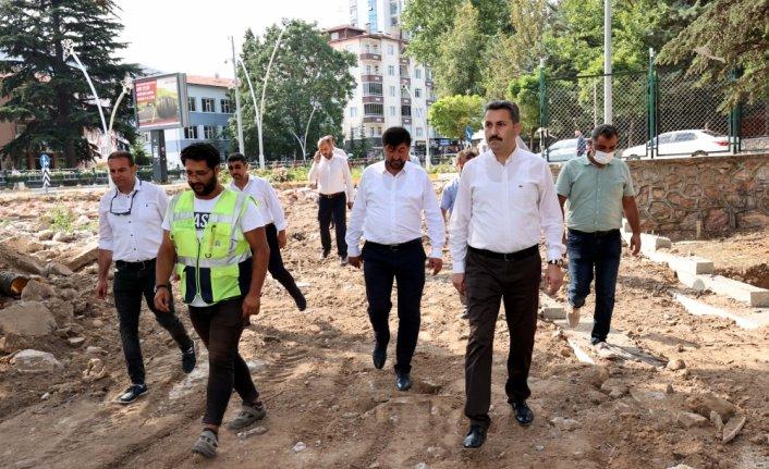 Tokat Belediyesi altyapı çalışmalarına devam ediyor