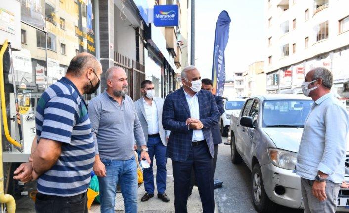 Trabzon Büyükşehir Belediye Başkanı Zorluoğlu, Yenimahalle sakinleriyle bir araya geldi