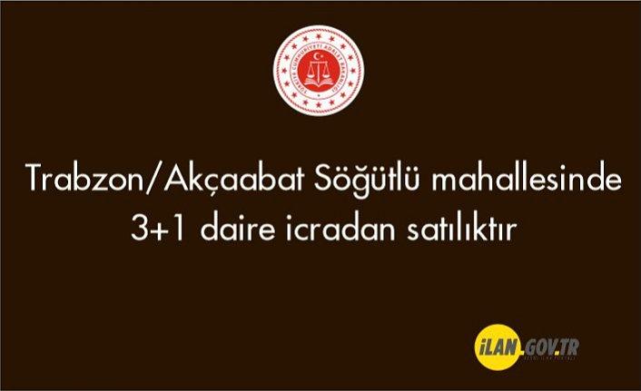 Trabzon/Akçaabat Söğütlü mahallesinde 3+1 daire icradan satılıktır