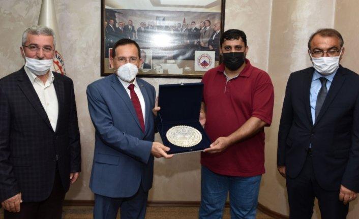 Umman ticaret heyeti Trabzon Ticaret ve Sanayi Odası'nı ziyaret ett