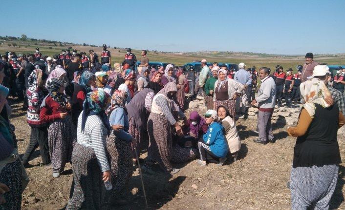 Vezirköprü'de vatandaşlardan arazi toplulaştırma çalışmalarına tepki