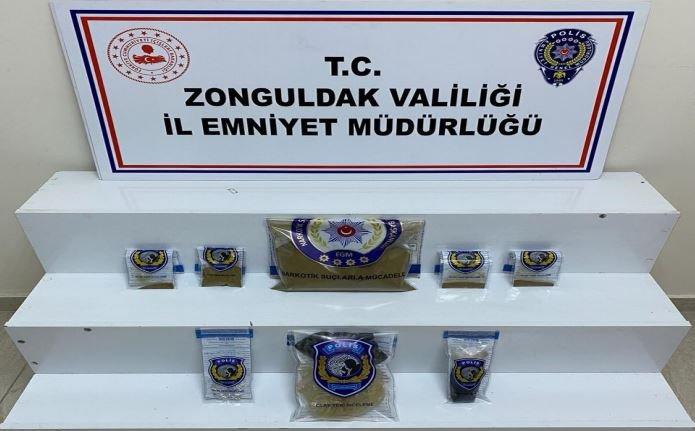Zonguldak'ta uyuşturucu operasyonunda 6 şüpheli tutuklandı