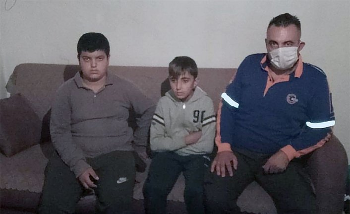 Çorum'da kaybolan iki çocuğu jandarma ve AFAD ekipleri buldu