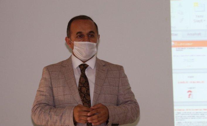 Havza Milli Eğitim Müdürlüğü personeline iş sağlığı ve güvenliği eğitimi verildi